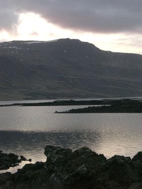 Hraunið fræga við Hítarvatn