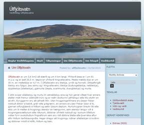 Nýr vefur Veiðifélags Úlfljótsvatns