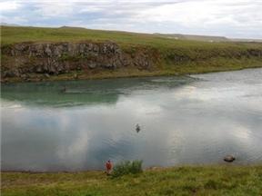 Laxveiðivertíðin byrjar