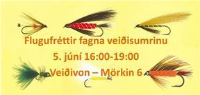 Flugufréttir fagna veiðisumrinu