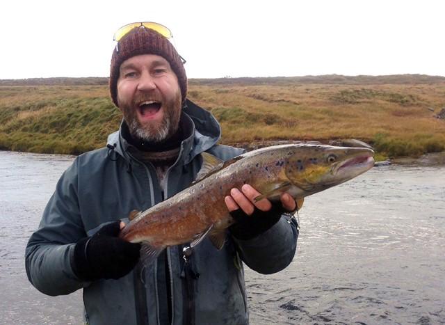 Haustið læðist að fiskum og mönnum