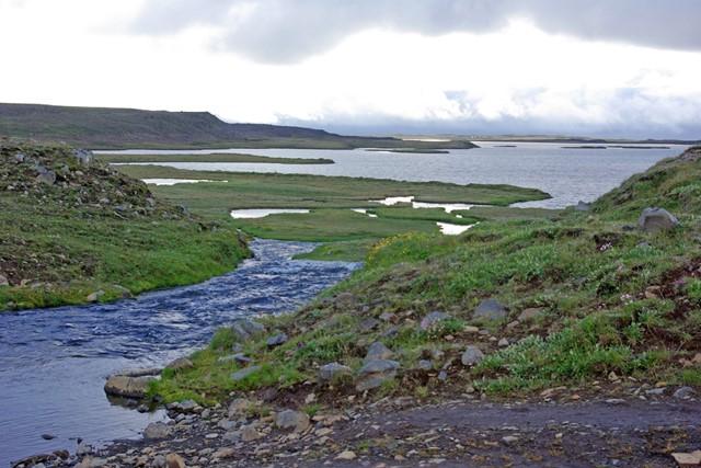 Veiðiferð á Arnarvatnsheiði - þetta er lífið! - úr safni Flugufrétta