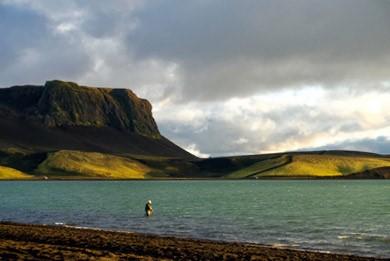 Gárað í Veiðivötnum