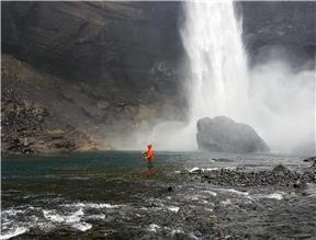 Í himnaríki er rennslið fullkomið og vatnið kristaltært